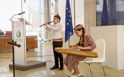 The gifted children from Armenia performed in the Parliament of Malta | Мальтийский вестник